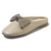 網紅拖鞋女外穿春夏季新款韓版包頭時尚懶人蝴蝶結半拖穆勒鞋春季特賣