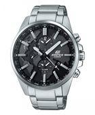 卡西歐CASIO EDIFICE賽車錶(ETD-300D-1A)黑面/46mm/原廠公司貨
