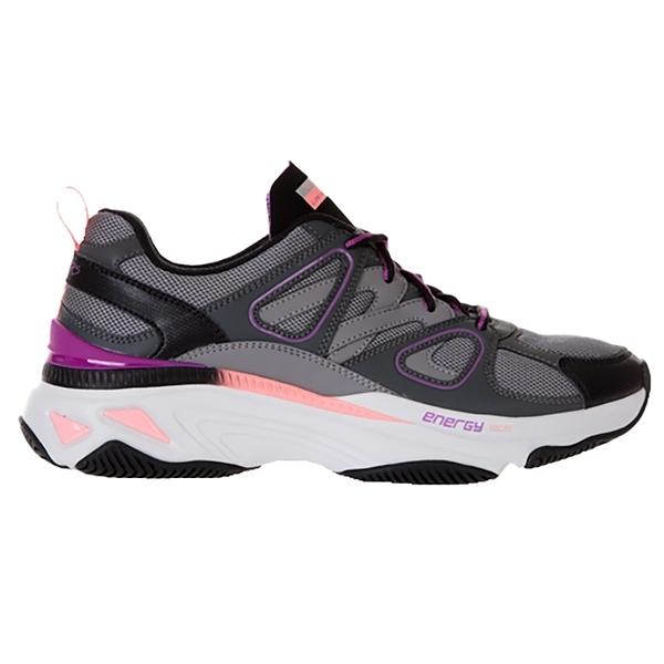 SKECHERS 女運動系列ENERGY RACER 加強透氣記憶型泡棉鞋墊 149371CCPK 黑粉