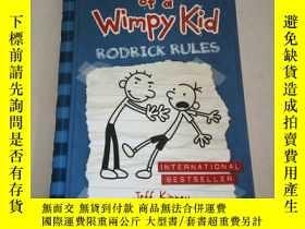 二手書博民逛書店DIARY罕見OF A WIMPY KID RODRICK RU