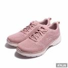 SKECHERS 女 健走鞋GO WALK 6 散步 藕粉色 舒適 透氣 緩震-124512MVE