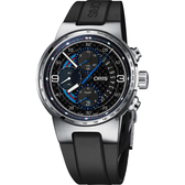 限量500只 ORIS 豪利時 F1 Williams Martini Racing 機械錶-44mm 0177477174184-SETRS