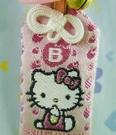 【震撼精品百貨】Hello Kitty 凱蒂貓~幸運御守-血型B-粉色【共1款】