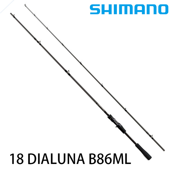 漁拓釣具 SHIMANO 18 DIALUNA B86ML [海鱸竿]