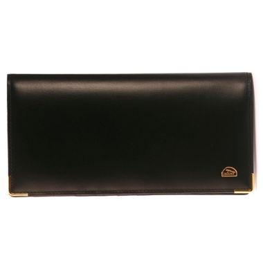 JAGUAR 金邊拉鍊長夾(黑色)450107