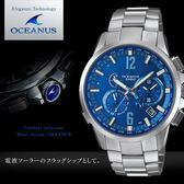 【人文行旅】OCEANUS   OCW-T2000C-2A 高科技智慧電波錶