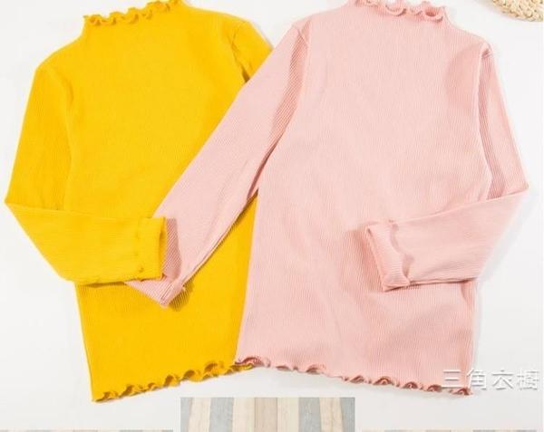 女童秋裝2020新品兒童秋衣大童長袖T恤打底衫小女孩秋季上衣