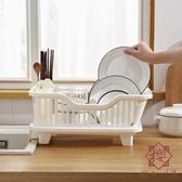 家用廚房置物架收納架碗碟瀝水籃置碗架瀝水碗架塑料【櫻田川島】