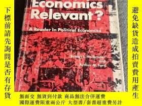 二手書博民逛書店ls罕見economics relevant(精裝 16開本)英文原版Y165164 看圖 看圖 出版197