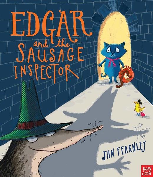 【麥克書店】EDGAR AND SAUSAGE INSPECTOR /平裝繪本 (免費線上聽故事)