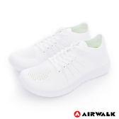 AIRWALK(男) - 凱普頓 編織透氣運動慢跑鞋 - 純白