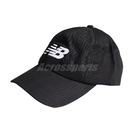 New Balance 帽子 Logo Baseball Cap 黑 白 男女款 老帽 棒球帽 運動休閒 【ACS】 LAH91017BK