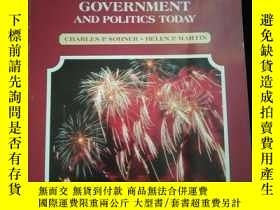 二手書博民逛書店AMERICAN罕見GOVERNMENT AND POLITICS TODAY (英文)Y16149