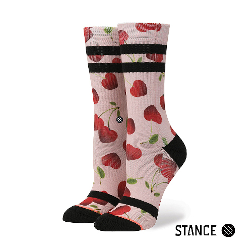 【STANCE】CHERRY BOMB-女襪-休閒襪-情人節設計款(W556A17CHE MUL)