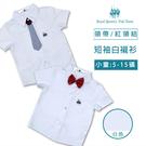 兒童白襯衫 贈紅領結或領帶 幼兒園畢業穿搭 [41043]RQ POLO 小童 5-15碼 春夏 童裝 現貨