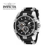【INVICTA】新一代極致繩索腕錶 52mm - 黑色白錶框