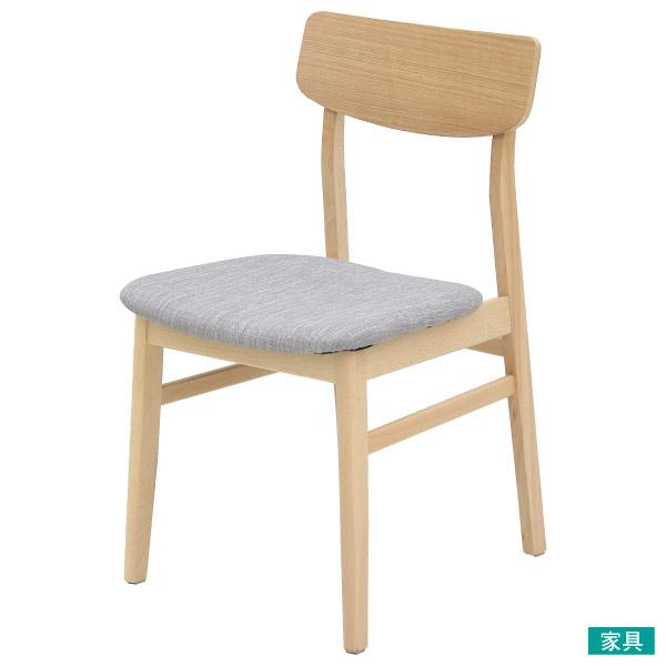 ◎木質餐椅 FILLN3 LBR/GY 45 NITORI宜得利家居