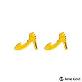 Jove gold 漾金飾 灰姑娘黃金耳環
