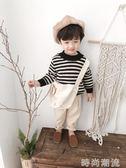 男童冬裝毛衣1-3歲韓版寶寶長袖線衫小童條紋加厚針織衫潮   時尚潮流