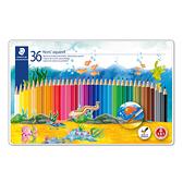 【奇奇文具】施德樓STAEDTLER MS14410M36 水性色鉛筆 (36色組)
