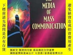 二手書博民逛書店The罕見Media of Mass Communication