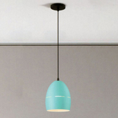 YPHOME 淺綠色單吊燈 O11016L藍色 1101-3