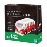 《 Nano Block 迷你積木》NBH-142 麵包車 ╭★ JOYBUS玩具百貨