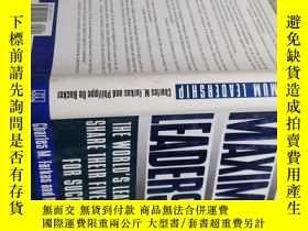 二手書博民逛書店MAXIMUM罕見LEADERSHIPY18417 看圖 看圖 出版1996