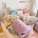 牛奶絨毛毯小清新羊羔絨毯子休閒毯蓋毯秋冬保暖【淘嘟嘟】