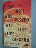 【書寶二手書T5/原文小說_HIM】The Girl Who Played with Fire_Stieg Larsso