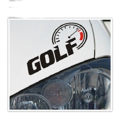 VW GOLF 轉速表貼紙 TOURAN GOLF JETTA POLO PASSANT TIGUAN A0145 沂軒精品