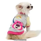 【PET PARADISE 寵物精品】DISNEY 玩具總動員熊抱哥上衣 (DSS) 狗衣服 寵物用品 寵物衣服