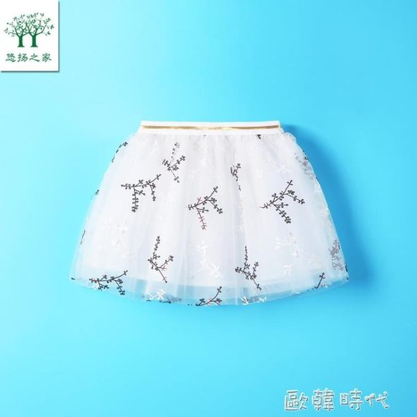 女寶寶夏裝短裙半身裙2-9歲女童裙子兒童公主裙 ⊱歐韓時代⊰
