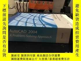 二手書博民逛書店AutoCAD罕見2004 A Problem-Solving
