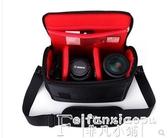熱銷攝影包原裝佳能單反相機側背包男女便攜攝影77D70D700D80D100D1300D5D3