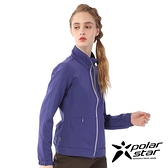 【PolarStar】女 內刷毛保暖外套『藍紫』P20206 上衣 休閒 戶外 登山 冬季 保暖 禦寒 保暖