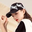 鴨舌帽 棒球帽女2021年新款夏季韓版男顯臉小情侶遮陽防曬扎染小眾鴨舌帽寶貝計畫 上新