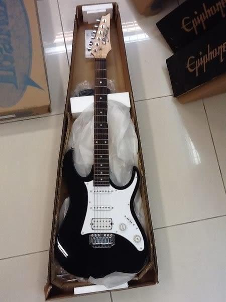 【金聲樂器廣場】 全新 Ibanez GRX40 GRX-40 小搖座電吉他 公司貨! 初學者頂級琴 CP值超高!! 黑色下標區