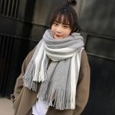 圍巾—圍巾女冬季新款韓版百搭加厚日系毛線少女男學生軟妹情侶簡約圍脖 korea時尚記