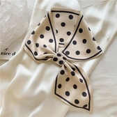 買2送1 絲巾氣質帶扣綁包發帶裝飾領巾【匯美優品】