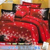 鋪棉床包 100%精梳棉 全舖棉床包兩用被四件組 雙人5*6.2尺 Best寢飾 3A97