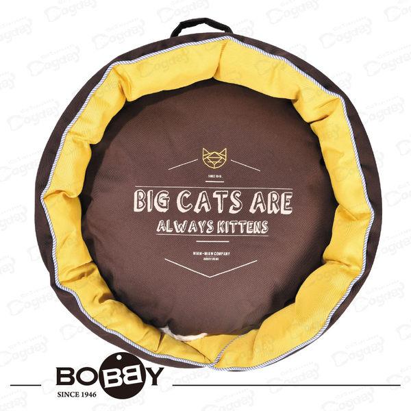 法國《BOBBY》貓大爺V領窩  貓窩 睡窩 小狗窩 貓床