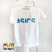 ASICS 亞瑟士 童裝 短袖 T-shirt 白色 NO.H3332(2034A703-100)