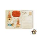 【收藏天地】印章明信片*龍虎塔 ∕  印章 擺飾 送禮 趣味 文具 創意 觀光 記念品