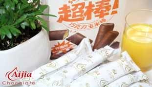 愛加超棒(巧克力玉米棒)120g【合迷雅好物超級商城】