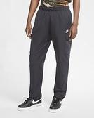 Nike NSW 男款黑色工裝休閒長褲-NO.CU4326010