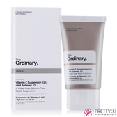 The Ordinary Vitamin C Suspension 23% + HA Spheres 2% 高純度維他命C 玻尿酸(30ml)【美麗購】
