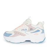 Fila Zeus [5-J308V-133] 女鞋 運動 休閒鞋 復古 厚底 老爹鞋 舒適 百搭 粉藍