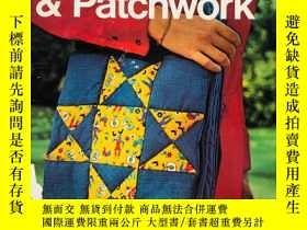 二手書博民逛書店Quilting罕見& Patchwork 英文原版-絎縫和拼布