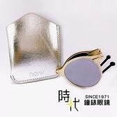 【台南 時代眼鏡 ROAV】偏光太陽眼鏡 薄鋼折疊墨鏡 8103 C14.61 白水銀 淺金 圓框墨鏡 美國 52mm